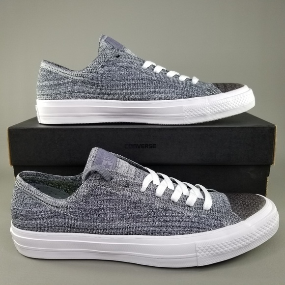 2d2bfbb47505 Converse CTAS x Nike Flyknit Ox Low Shoes Mens 9